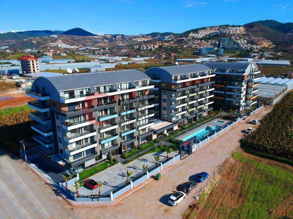 Maisonette in a new building overlooking the sea - Alanya Kargicak