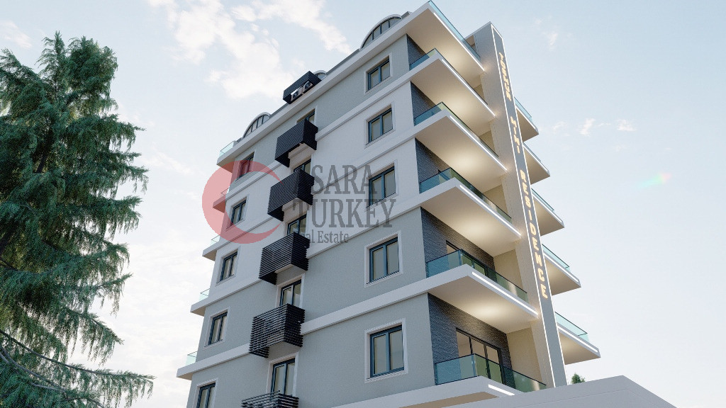 New apartments for sale in Turkey Tosmur - good price