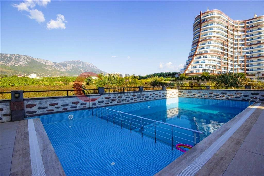 Furnished 4-room apartment with separate kitchen, Alanya - Mahmutlar