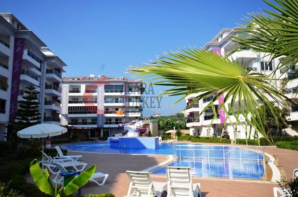 We offer for sale a furnished duplex apartment in Kestel, Alanya