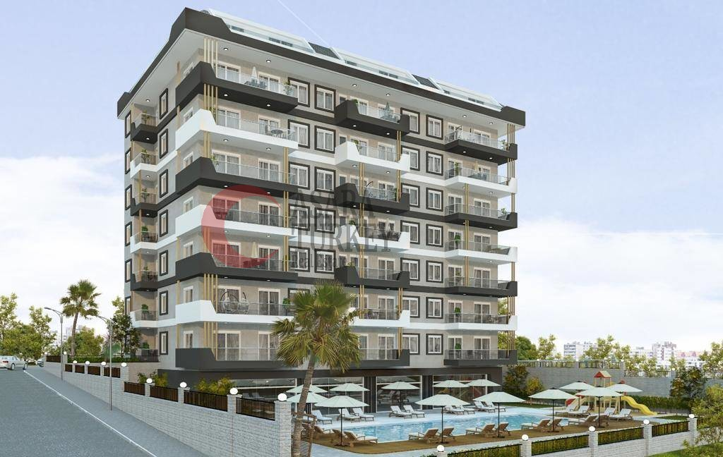 New apartments in Turkey at low prices - sauna, gym, pool