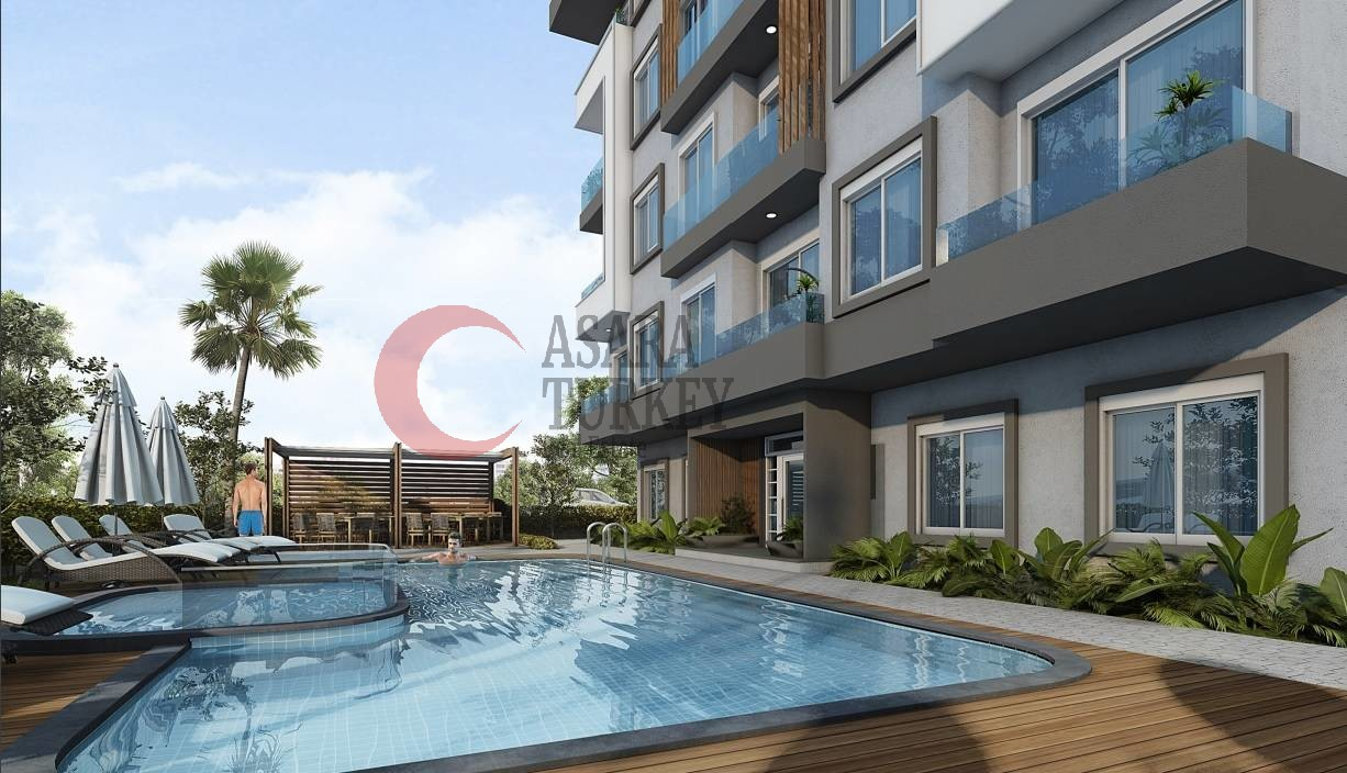 New apartments in Oba, just 3 km from Alanya city center