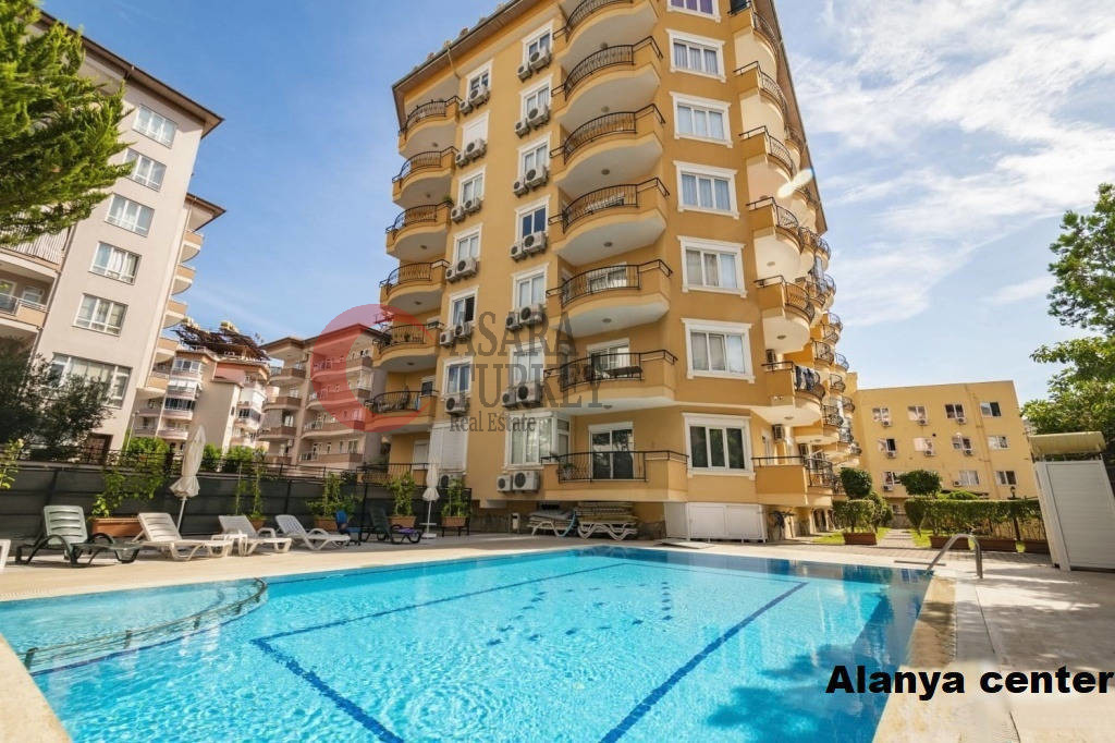 Apartment 2+1, in the center of Alanya - beach 800 m
