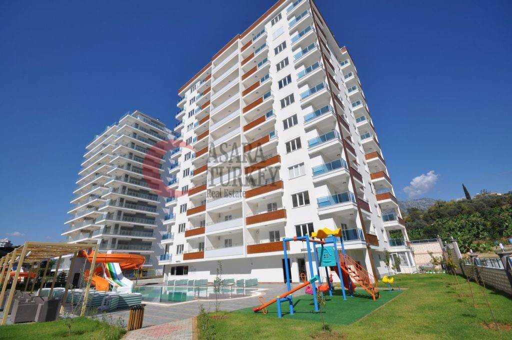 Furnished apartment in a luxury complex in Alanya - Mahmutlar